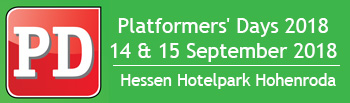 Logo Platformers' Days - The industry meeting point for mobile lifting technology in the heart of Germany